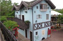 茶溪谷小镇公寓楼街景大床房