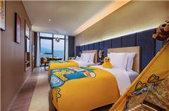 小黄鸭海景家庭房