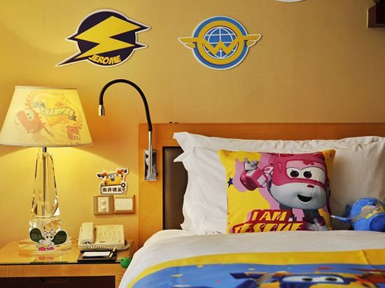 超级飞侠海景双床房