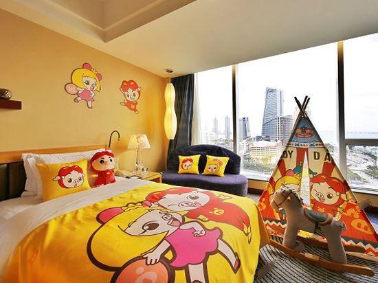 猪猪侠海景双床房