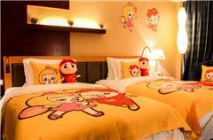 豬豬俠海景雙床房