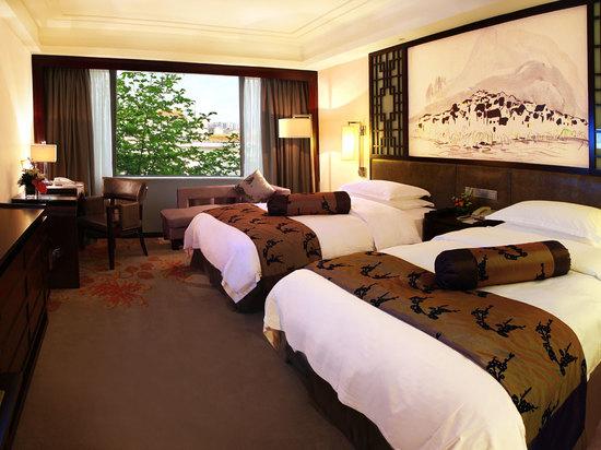 高级花园双床房