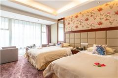 Business Peony Thematic Twin Room
