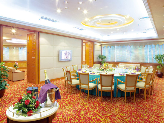 中餐厅包厢