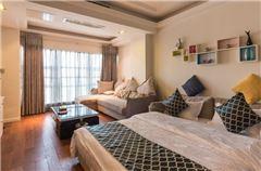 现代风情大床房