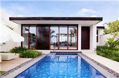 聆海泳池一居别墅