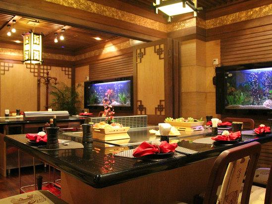 亚洲餐厅包厢
