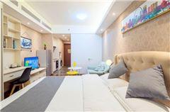 中式舒适城景豪华房