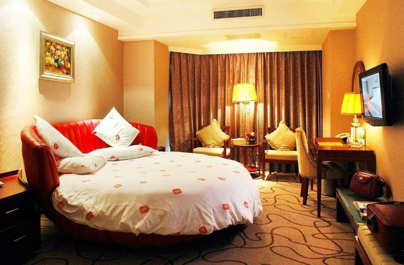 高级客房圆床房