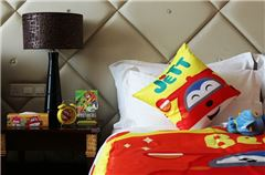 Super Wings cool bud parent-child Queen bed room