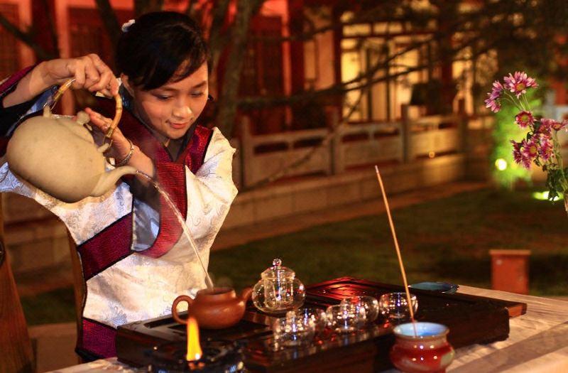 茶藝表演-黑茶