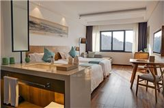 Manxiang Panoramic Twin Room