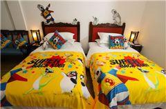 貝肯熊親子主題雙床房