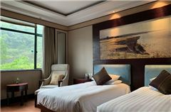 Mountain-view Twin Room
