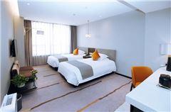 天逸城市景观双床房