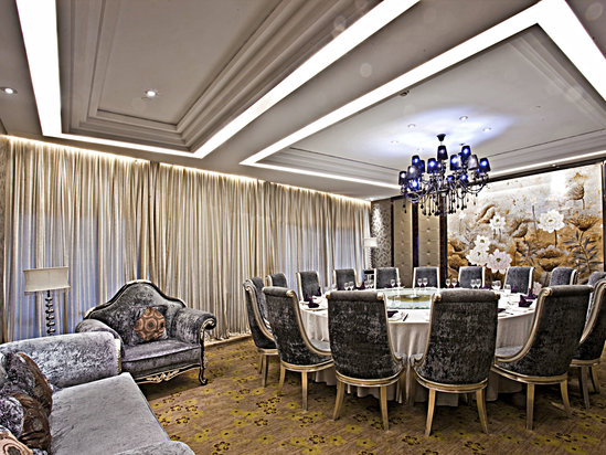 The restaurant seats