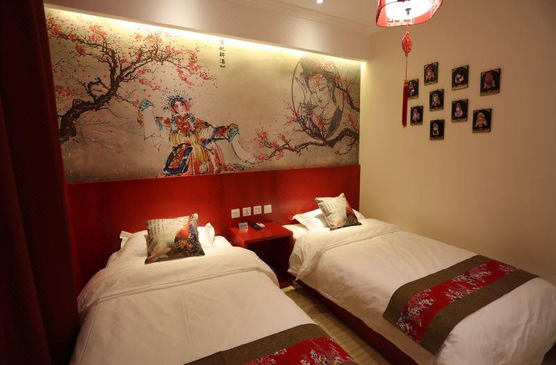 精選中國文化雙床房