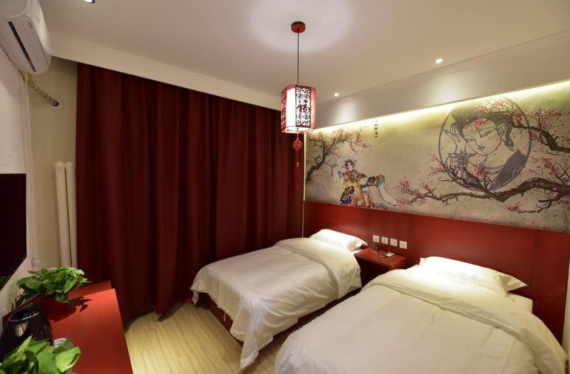 精选中国文化双床房