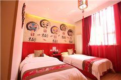 Farewell My Concubine Theme Twin Room