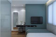 Modern Simple Queen Room