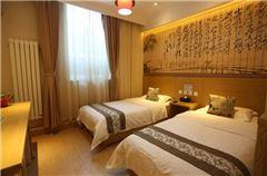Hutong Autumn Twin Room