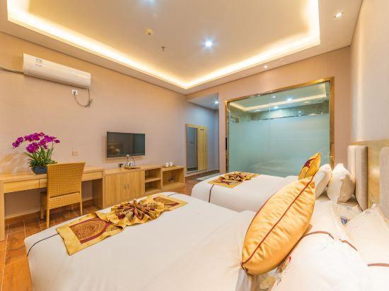 豪華空調雙床房
