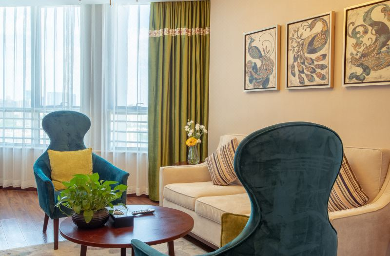 Boutique Family Suite 2-bedroom and 1-living room
