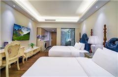 Warm Superior City-view Room