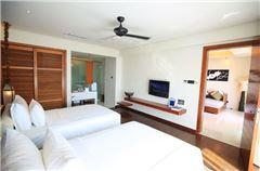 豪華園景一房一廳雙床套房