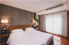 靓上海市景双床套房