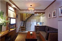 豪华复式大床套房公寓