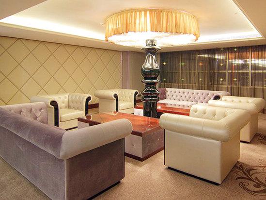 酒店楼层休息区