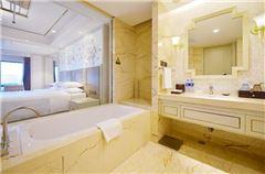 高級豪華園景大床房