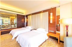 豪華園景雙床房