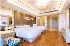 高級豪華園景雙床房