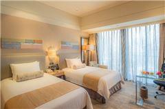 高级CBD景观双床房