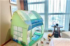 恐龙森林亲子帐篷房