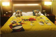 贝肯熊亲子主题大床房