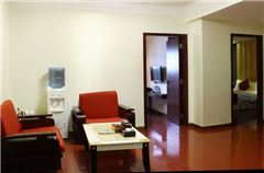 2-bedroom and 1-living room Suite