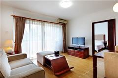 1-bedroom and 1-living room
