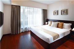 2-bedroom and 1-living room Villa B