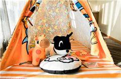 小黄鸭亲子主题大床房