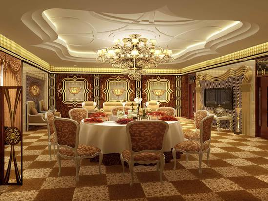 In dining rooms