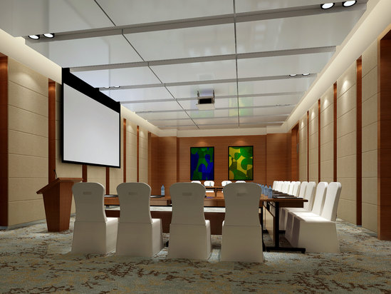In the meeting room