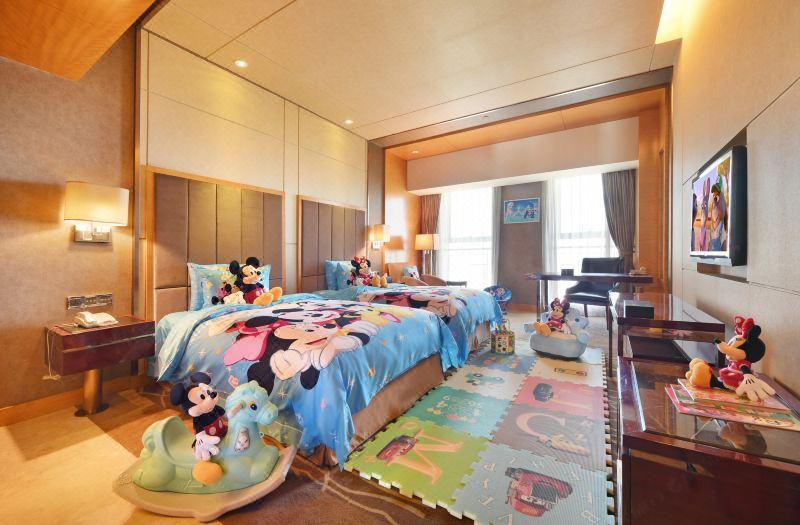 親子樂園雙床房
