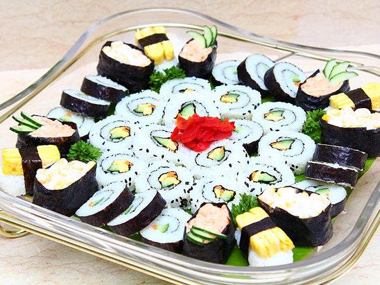 自助早餐-壽司