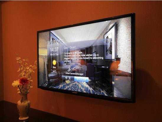 客房液晶电视