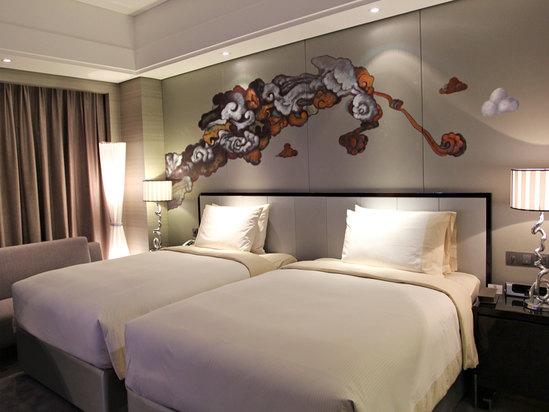 中式双床房