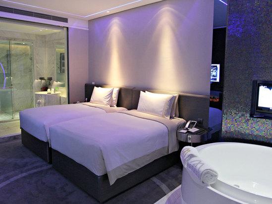 科幻双床房