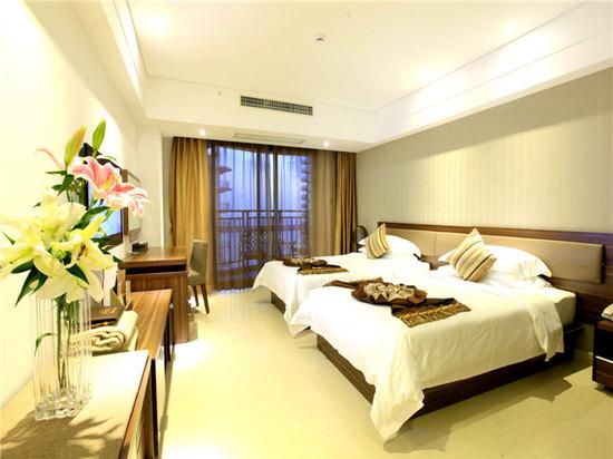 灣景雙床房